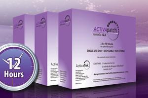 ActivaTek ACTIVApatch IontoGo 12.0 2.0cc Fill Volume