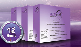 ActivaTek ACTIVApatch IontoGo 12.0 2.0cc Fill Volume