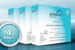 ActivaTek ACTIVApatch IontoGo 4.0 2.0cc Fill Volume