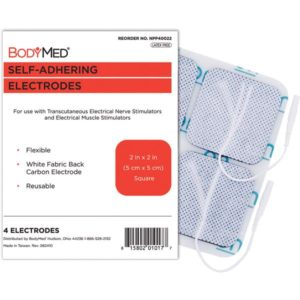 BodyMed Self-Adhering Electrodes 2_ x 2_ Square