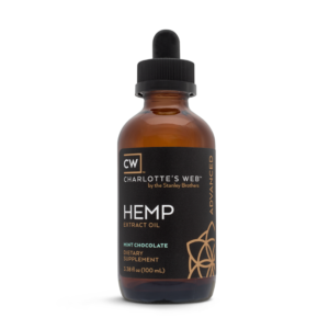 Charlotte's Web Advanced Hemp Oil – Mint Chocolate 100ml