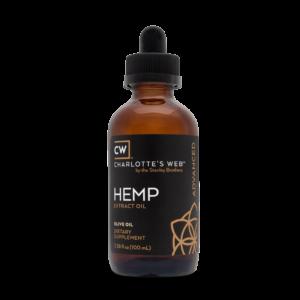 Charlotte's Web Advanced Hemp Oil – Olive Oil 100ml