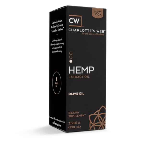 Charlotte's Web Hemp Oil – Olive Oil 100 ml