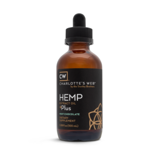 Charlotte's Web Plus Hemp Oil – Mint Chocolate 100 ml