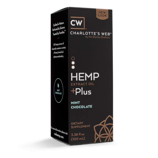 Charlotte's Web Plus Hemp Oil – Mint Chocolate 100 ml