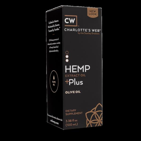 Charlotte's Web Plus Hemp Oil – Olive Oil 100 ml