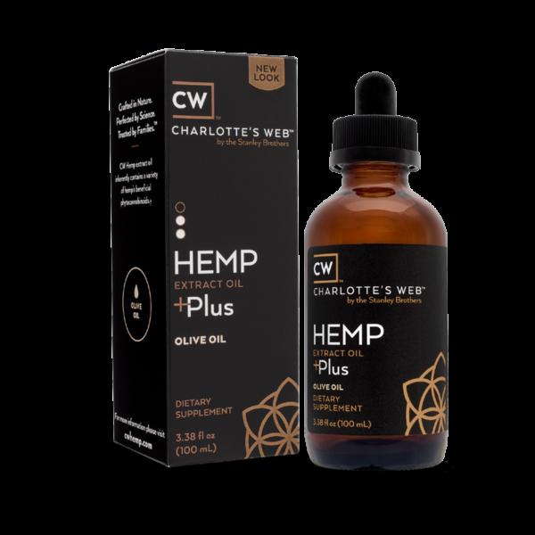 Charlotte's Web Plus - Olive Oil 100 ml