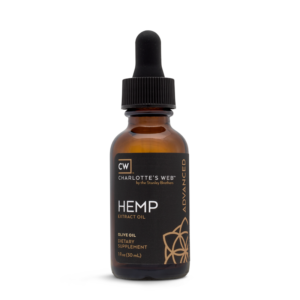 Charlotte's Web Advanced Hemp Oil – Olive Oil 30ml