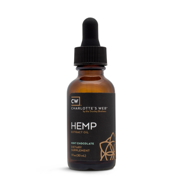 Charlotte's Web Hemp CBD Oil – Mint Chocolate 30 ml