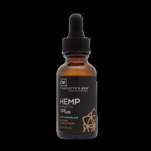 Charlotte's Web Plus Hemp Oil – Mint Chocolate 30 ml