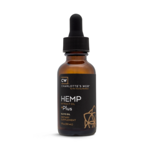 Charlotte's Web Plus Hemp Oil – Olive Oil 30 ml