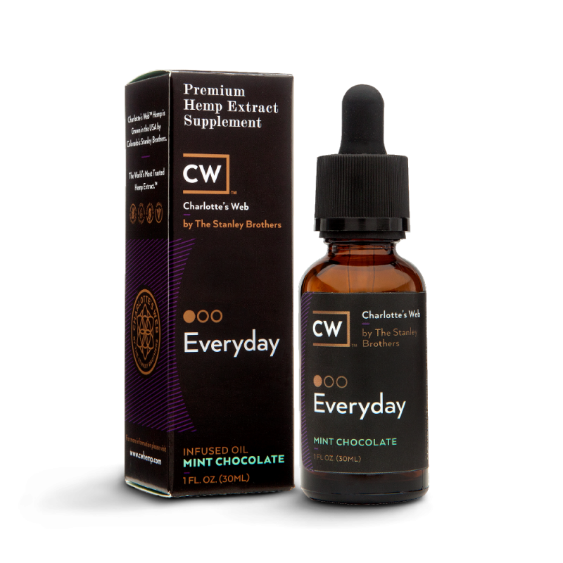 Charlotte's Web Everyday Hemp Oil - Mint Chocolate 30 ml