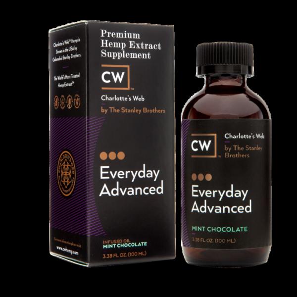 Charlotte's Web Everyday Advanced Hemp Oil – Mint Chocolate 100 ml