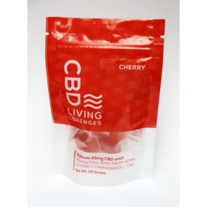 CBD Lozenges Cherry Bag