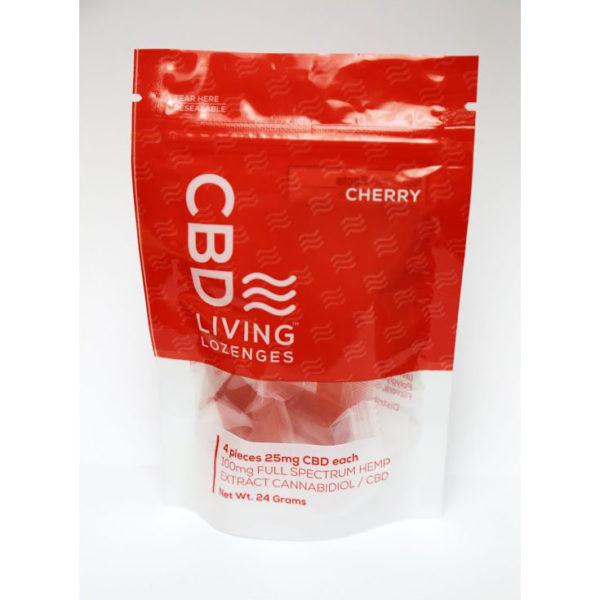 CBD Lozenges Cherry Bag