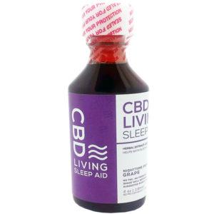 CBD Living Sleep Aid Grape