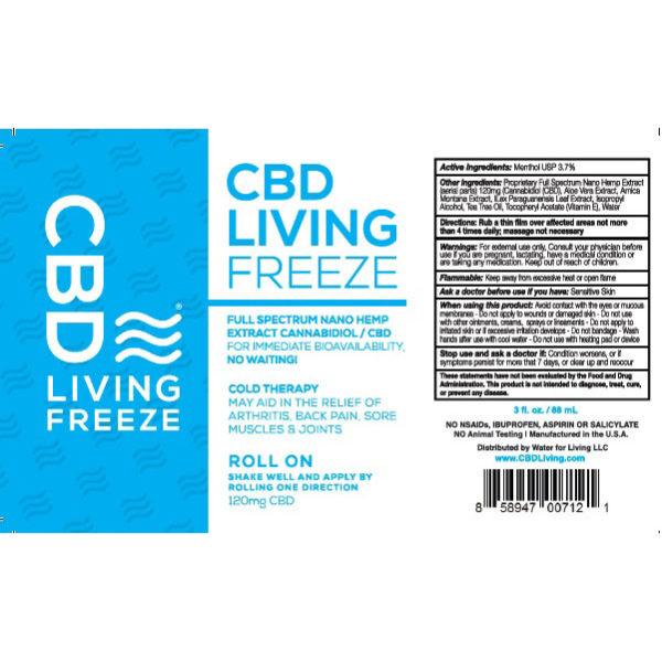 CBD Living Freeze