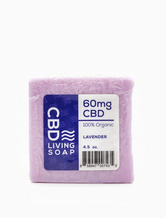 CBD Living Soap 60 Mg CBD Lavender