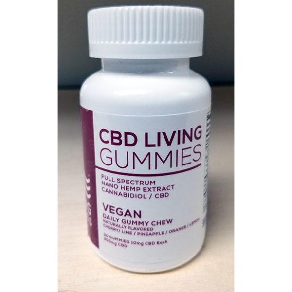 CBD Living Vegan Gummies