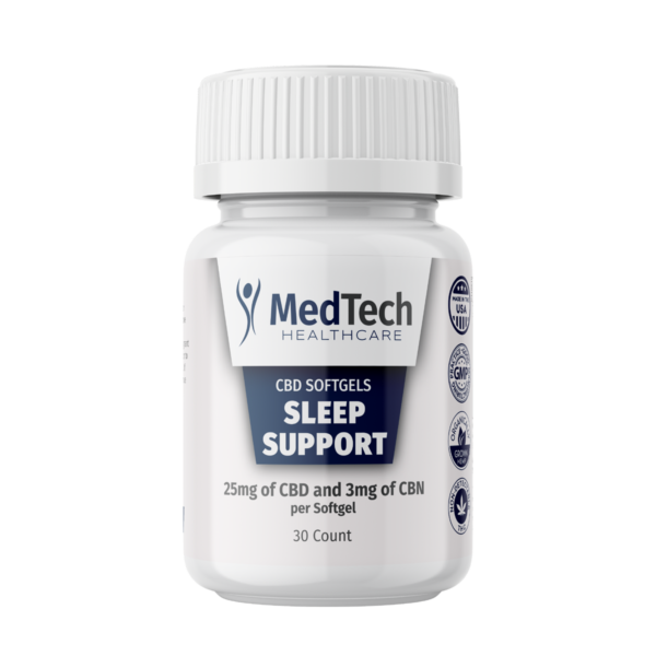 Sleep Support Capsules with 3mg CBN