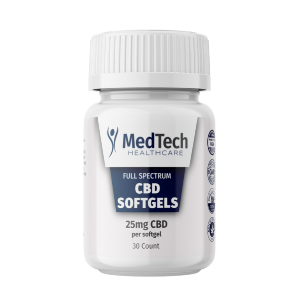 Sleep Support Capsules with 25mg CBD