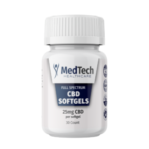 CBD Capsules (Liquid) 25mg Full Spectrum