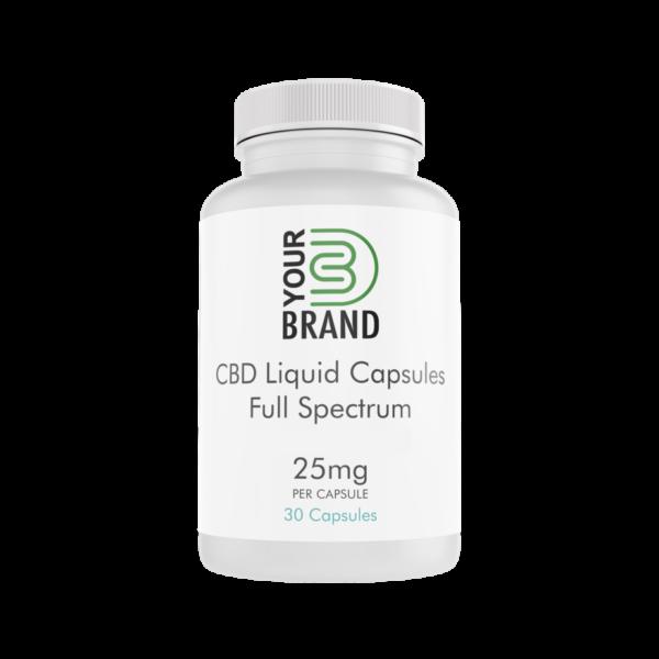 CBD Capsules (Liquid) 25mg Full Spectrum